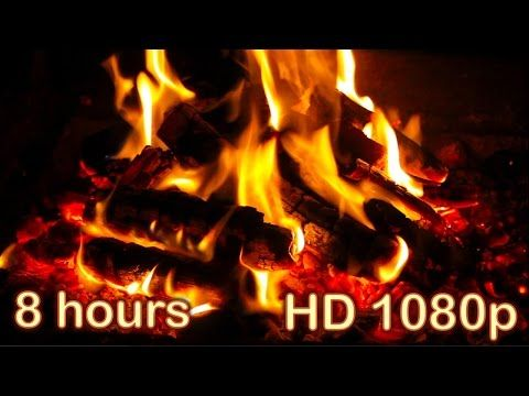 8 Hours Christmas Music With Fireplace Christmas Music