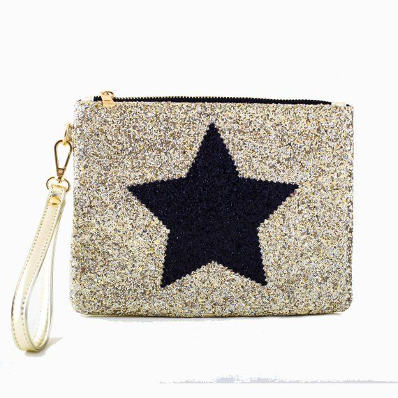 Women Clutch Bag Purse Evening Handbag Glitter Shoulder Bag For Bridal Gift