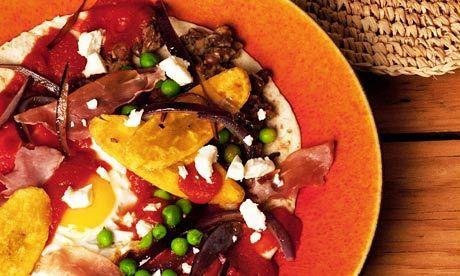 Huevos motulenos recipe | Tostadas, Mexicans and Beans