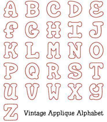 Letter appliques timiznceptzmusic letter appliques spiritdancerdesigns Gallery