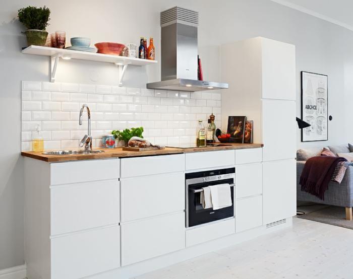 La cuisine blanche et bois en 102 photos inspirantes Cuisines