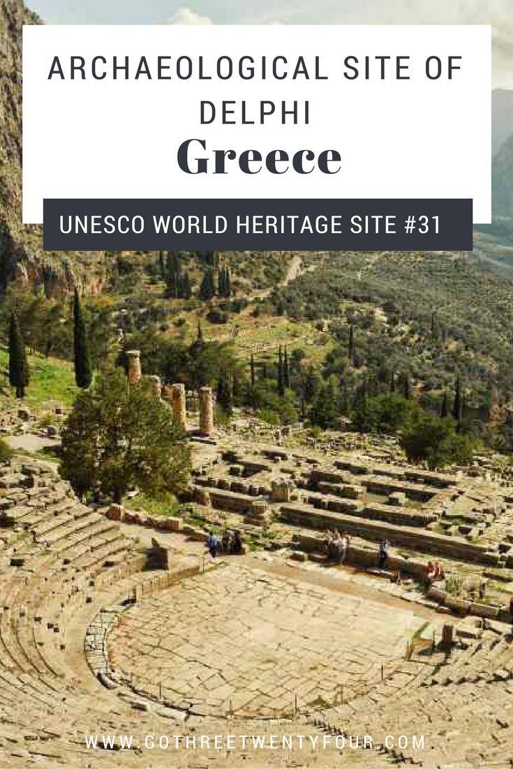 Delphi: a selection of sites