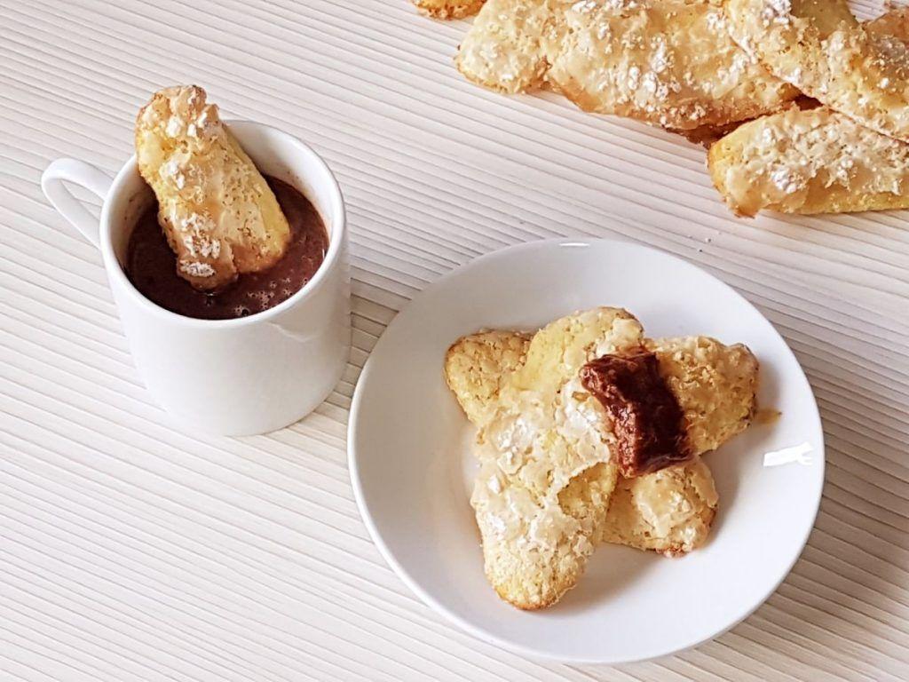 bizcochos de soletilla sin azucar - dulces diabéticos