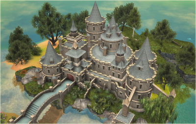 Custom Scenery Depot - Theme Park Games - Castle Things 2 | RCT3