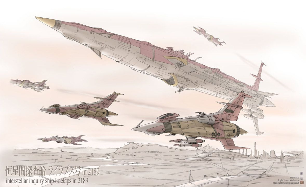 This Japanese artist has a fantastic blog  that is very English friendly. Unbelievable amounts of clean YAMATO ship art with many variations...