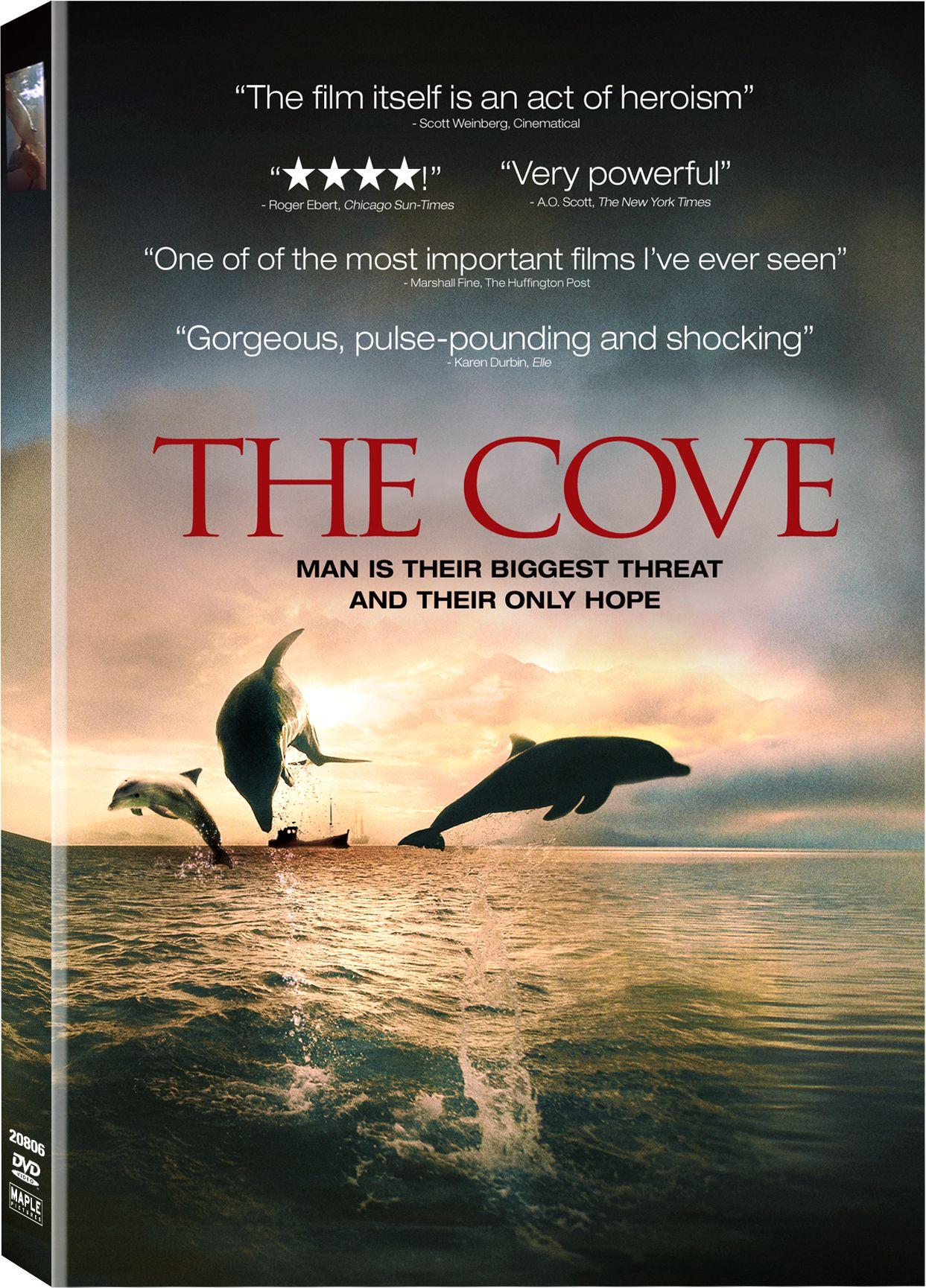 The Cove  / produced by Fisher Stevens, Paual Dupre Presmen ; directed by Louie Psihoyos. Documental sobre la matança de més de 23.000 dofins en una cala a Taiji, Wakayama (Japó)...Més informació a http://cataleg.ub.edu/record=b2192511~S1*cat   #bibeco