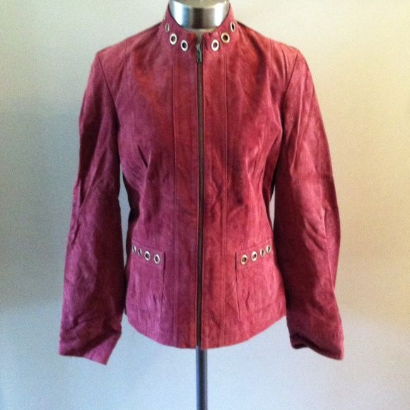 Ruff Hewn leather jacket Sz M Ruff Hewn leather zip jacket size M, cross posted I'm preparing to move and don't want to take much with me, please look at other items for sale, thank you and happy shopping :) Ruff Hewn Jackets & Coats