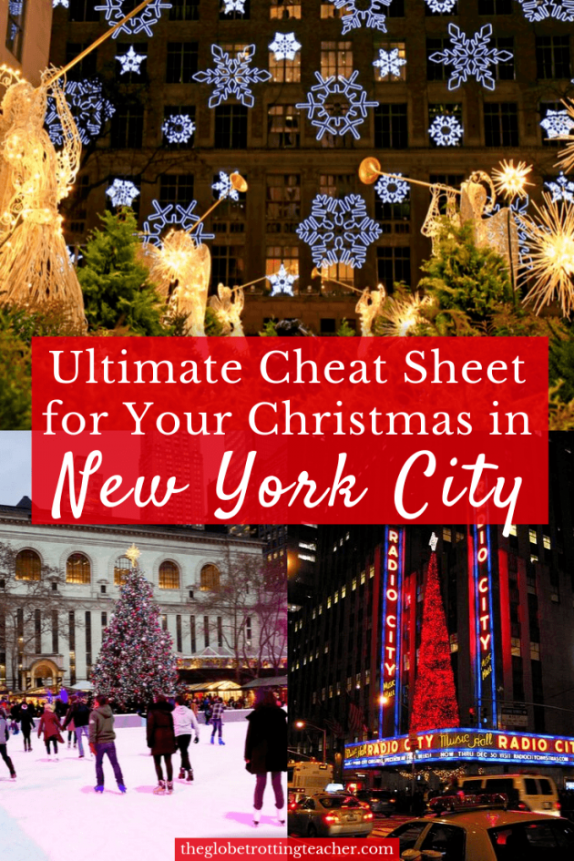 Ultimate Cheat Sheet For Your Christmas In New York City Written By A Local Everything You Need To Kn In 2020 New York City Christmas Visiting Nyc New York Christmas