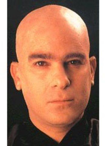 Complexion Fake Bald Head Skinhead Wigs Caps Clown Mens Ladies Fancy Dress Party