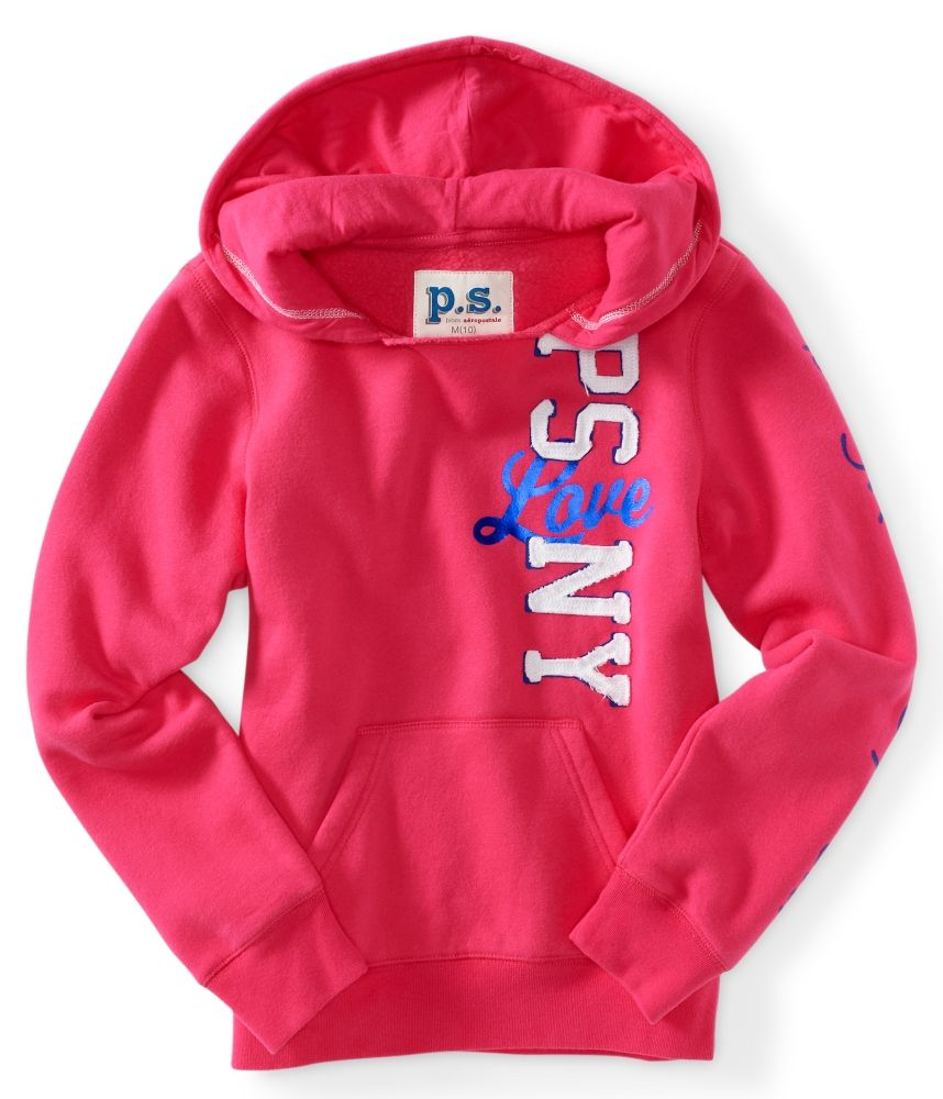Kids' PSNY Love Popover Hoodie PS From Aeropostale
