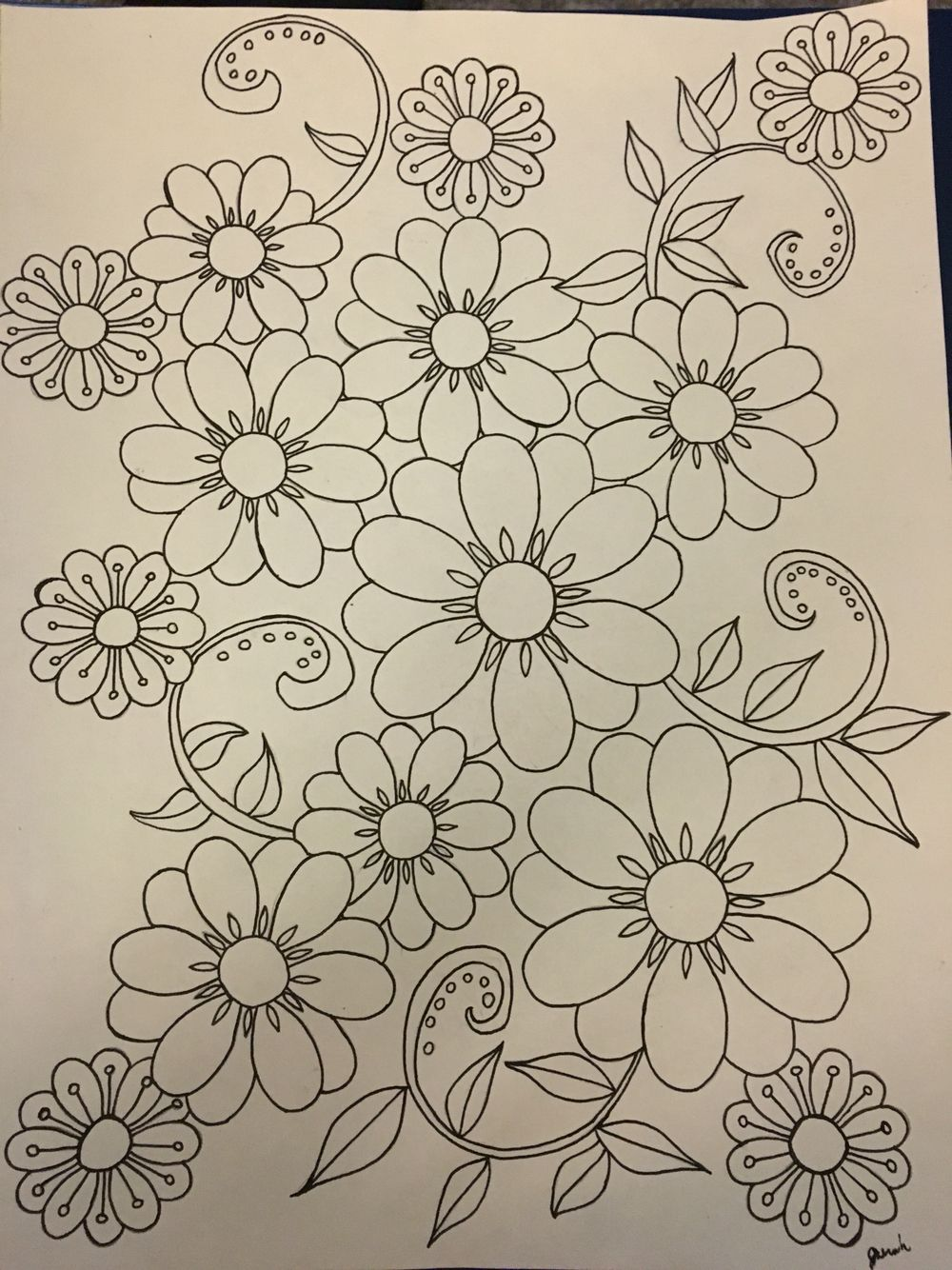 Doodled this one up myself feel free to print! | Coloring pages ...