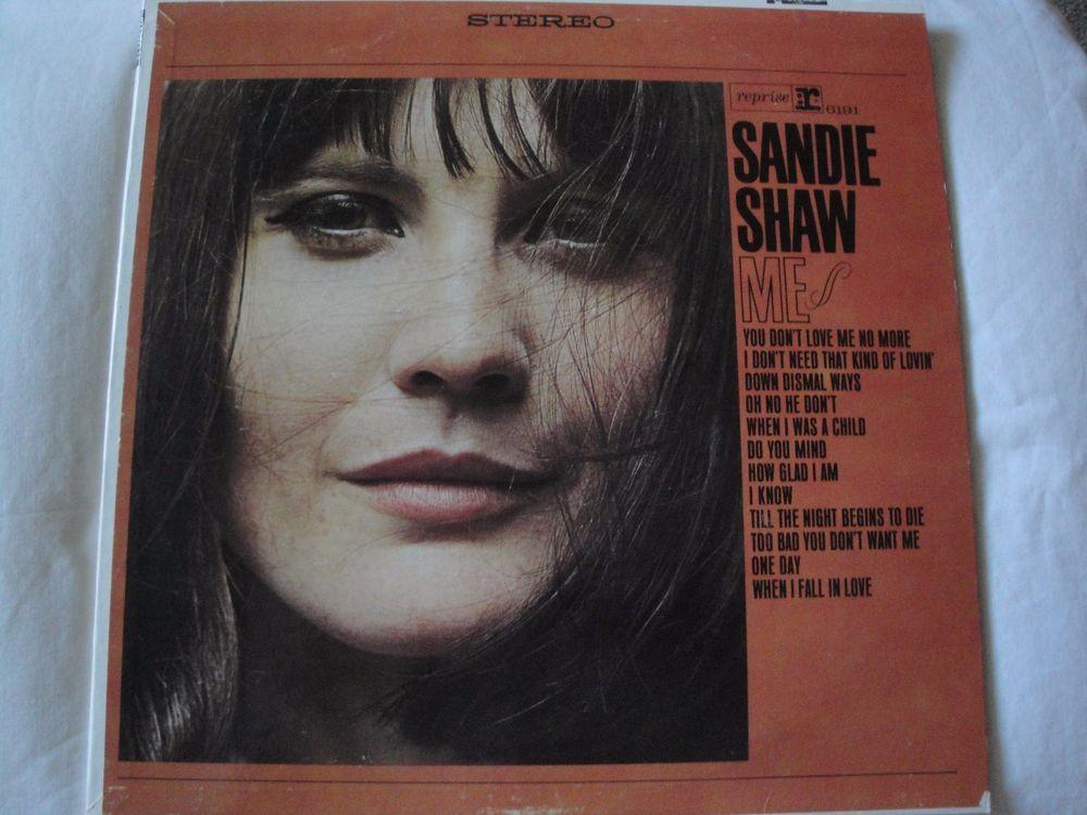 "Sandie Shaw ""ME"" Original 1965 Reprise Records RS 6191 Stereo Vinyl Lp Record EX #1960sEasyListeningFolkPopPopRBPopRockSingerSongwriterSoftRock"