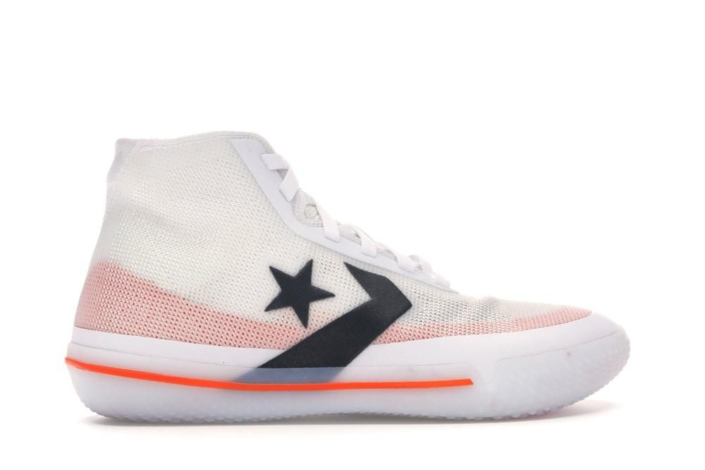NEW Converse All Star Pro BB White Black Orange | Tenis