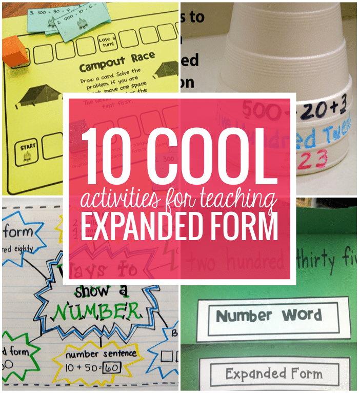 Common Core Expanded Form Image Collections Free Form Design Examples