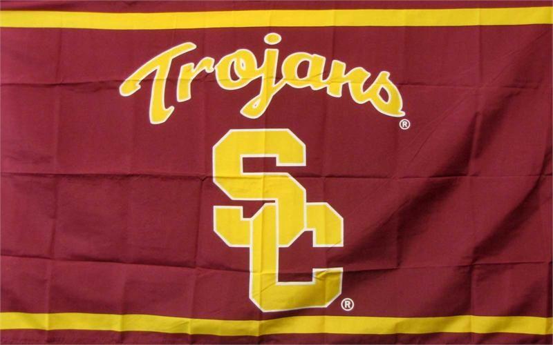 Usc Trojans Logo 3 X 5 College Flag Usc Trojans Logo Usc Trojans College Flags