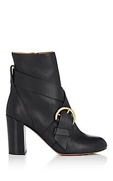Nils Leather Ankle Boots