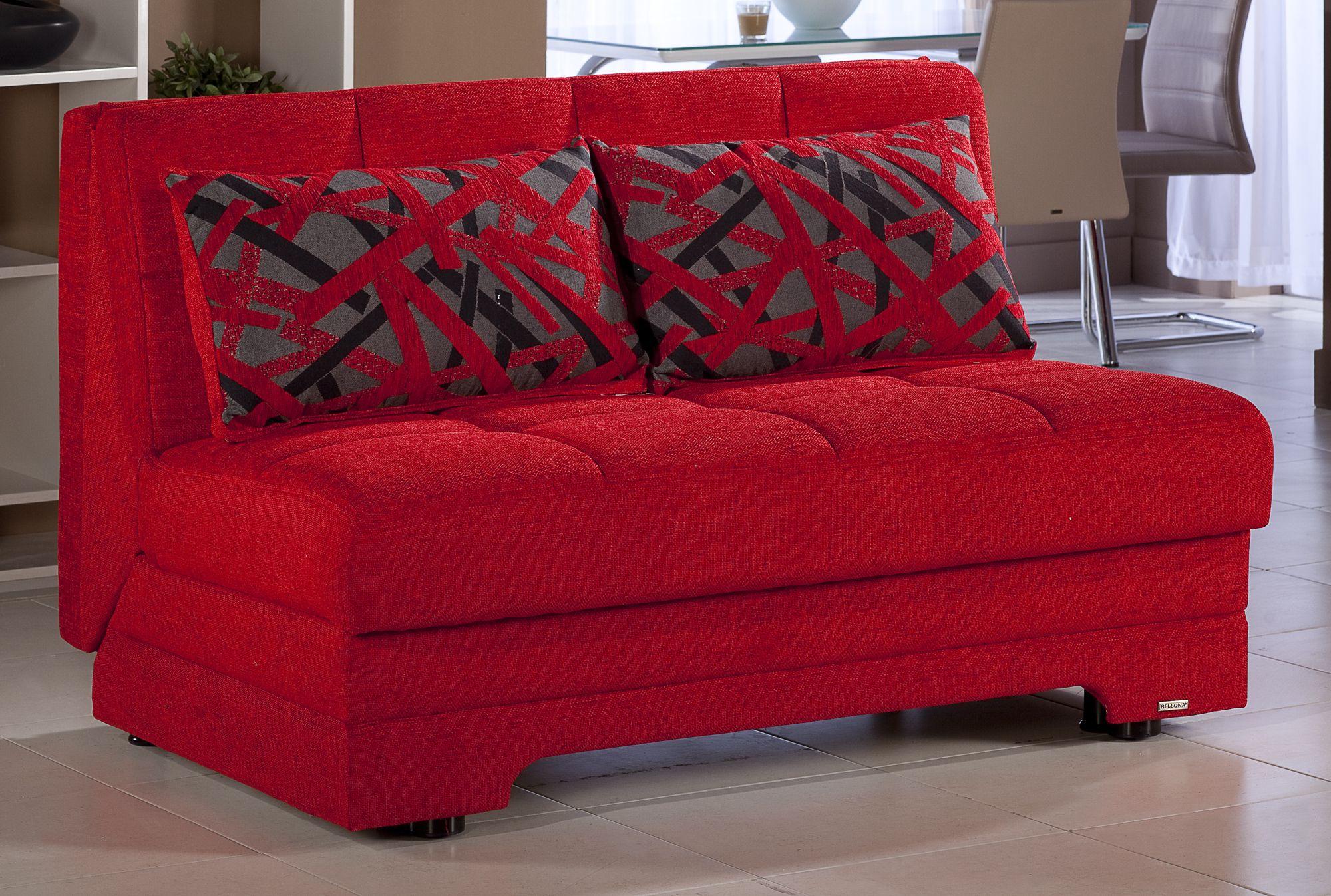 Fantastic Twist Story Red Loveseat Sleeper By Istikbal Furniture In Inzonedesignstudio Interior Chair Design Inzonedesignstudiocom