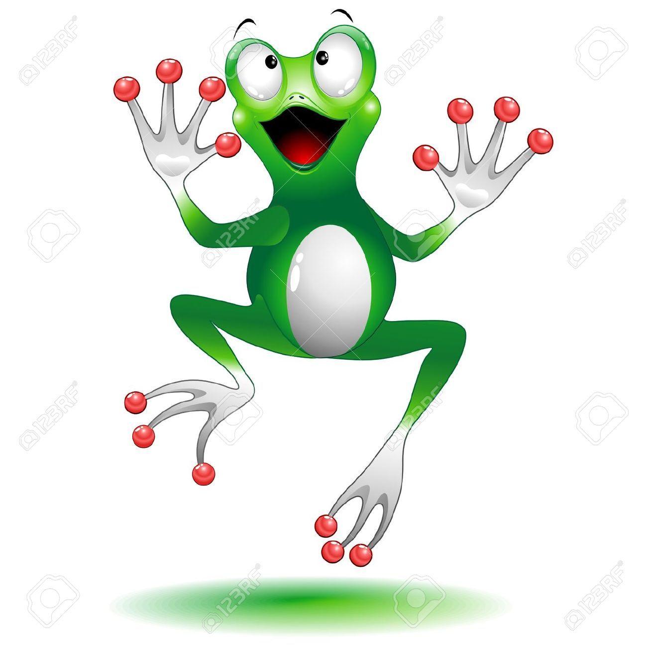 Frog Jumping Clipart Frog Jump image...
