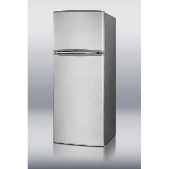 Summit FF1425SS 12.7 Cu. Ft. Apartment Size Refrigerator / Freezer ...