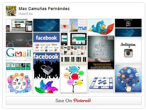 Insertar Pinterest en tu web o blog | Tutorial by maxcf