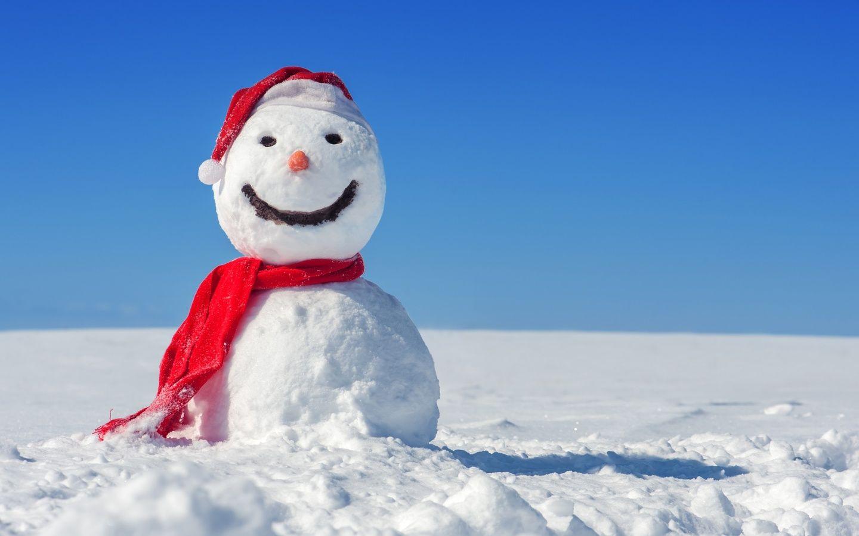 Snowman Wallpaper Background