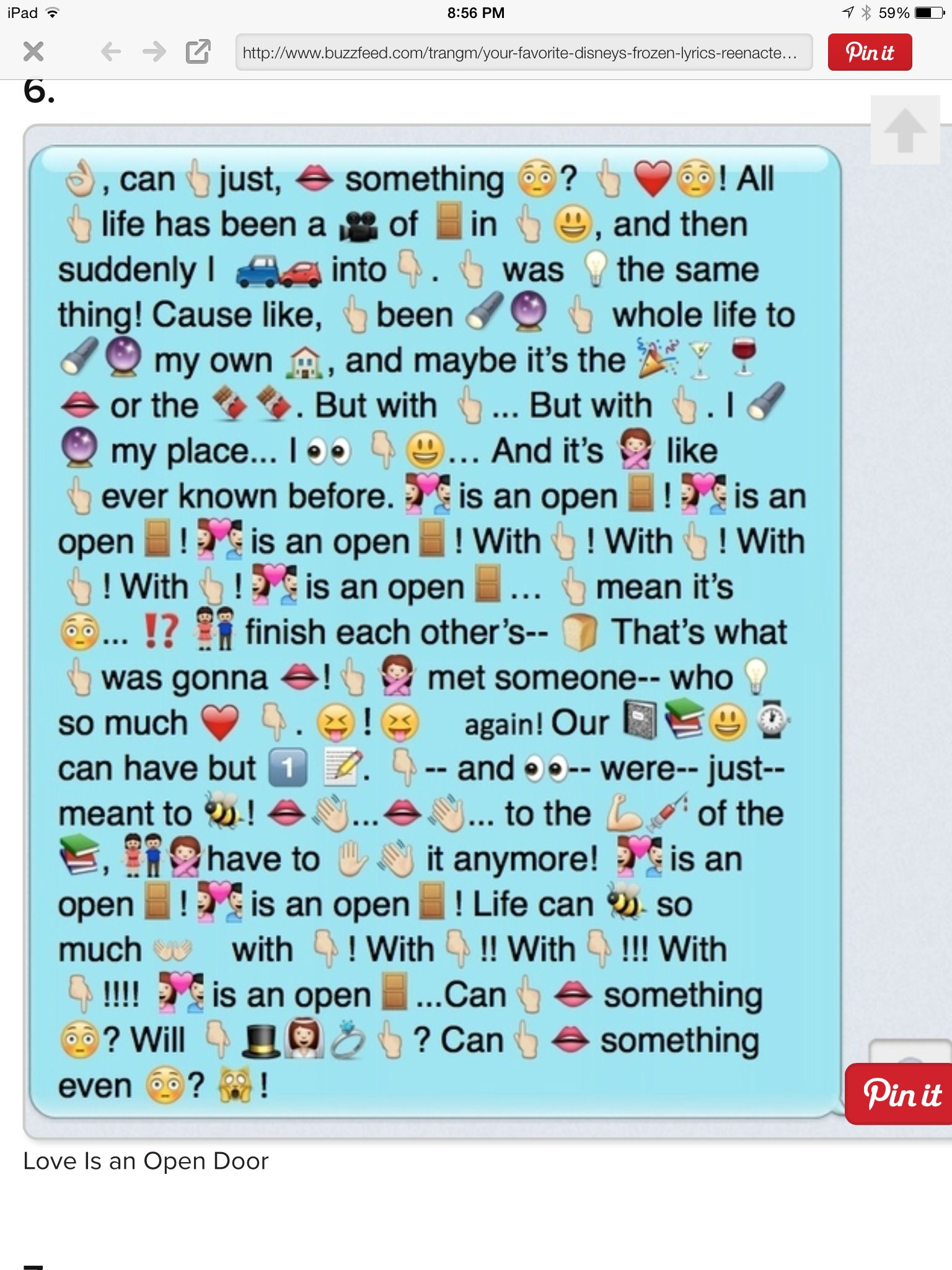 Love Is An Open Door Disney Frozen Emoji Texts Disney Kids