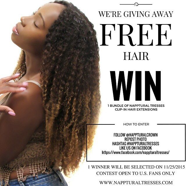 Napptural Tresses Is Giving Away 1 Bundle Of Napptural Tresses Clip