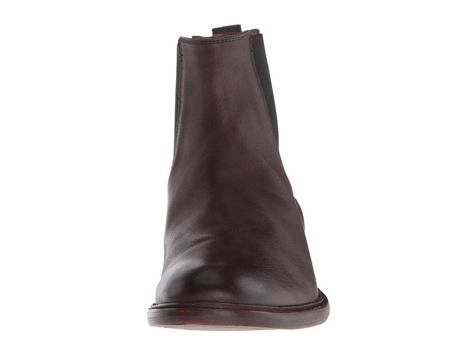 0a1f57ed3d2 Frye Chris Chelsea Men's Boots Charcoal Tumbled Full Grain ...