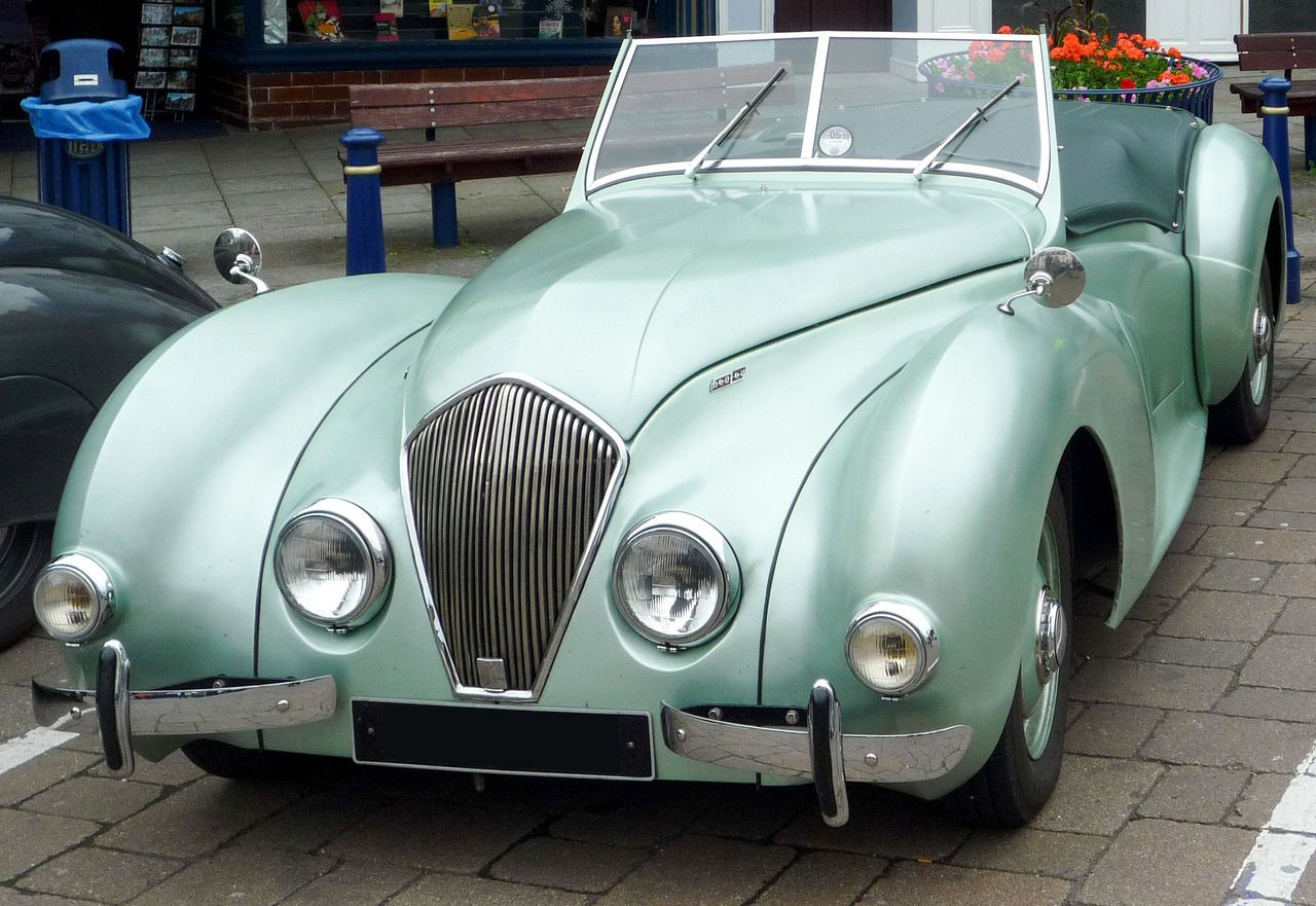 Healey Westland Roadster, 1946. The first car produced by the Donald ...