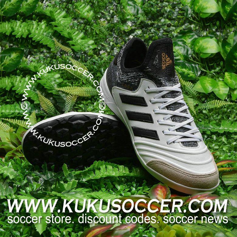 best sneakers 5ae98 5cb13 adidas Copa Tango 18.1 TF - White Core Black Tactile Gold Metallic