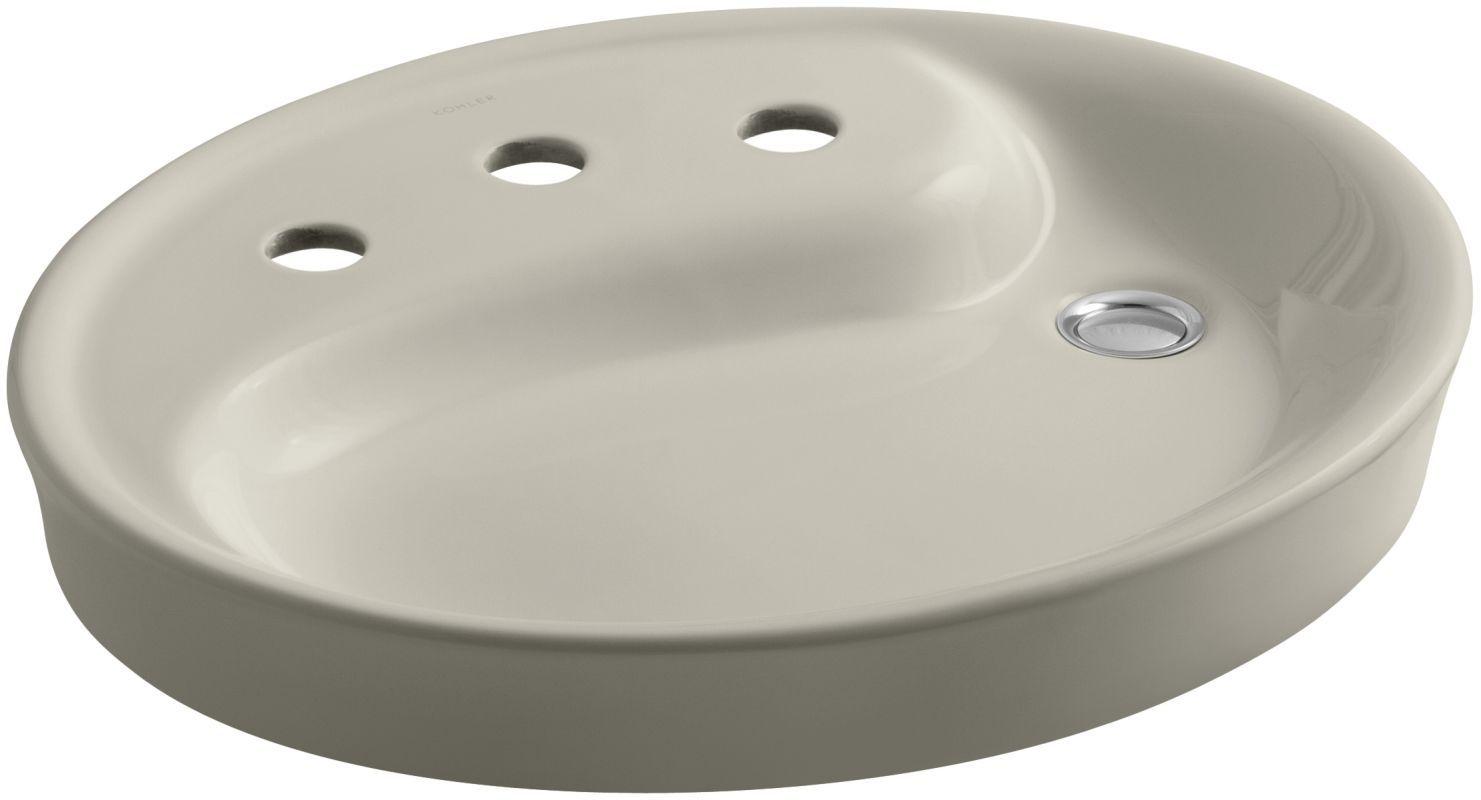 kohler k 2354 8 yin yang 19 1 2 vessel sink with 3 holes drilled rh in pinterest com