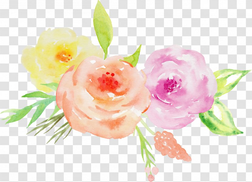 Garden Roses Wedding Invitation Watercolor Painting Floral Design Flower Peony Hand Painted Floral Painting Watercolor Flower Wreath Pink Watercolor Flower