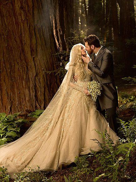 The Bride Wore What Unconventional Celeb Wedding Dresses Romantic