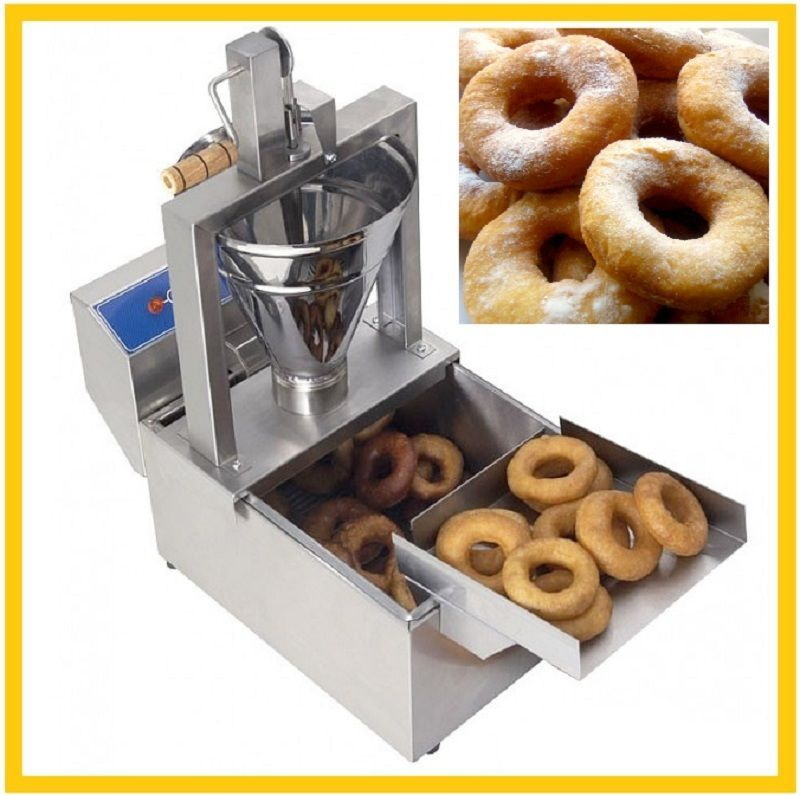 Fp 8 Manual Machine For Donuts Donut Deep Fryer Baking Frying