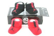 brand new 87c9c 65df0 Nike Air Jordan Newborn Infant Baby Booties Socks Black and Red w Air  Jordan Logo, Size 0-6 Months