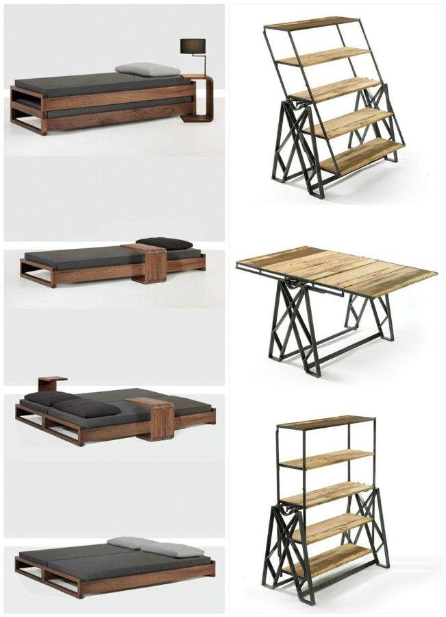 muebles multifuncionales ideas pinterest muebles