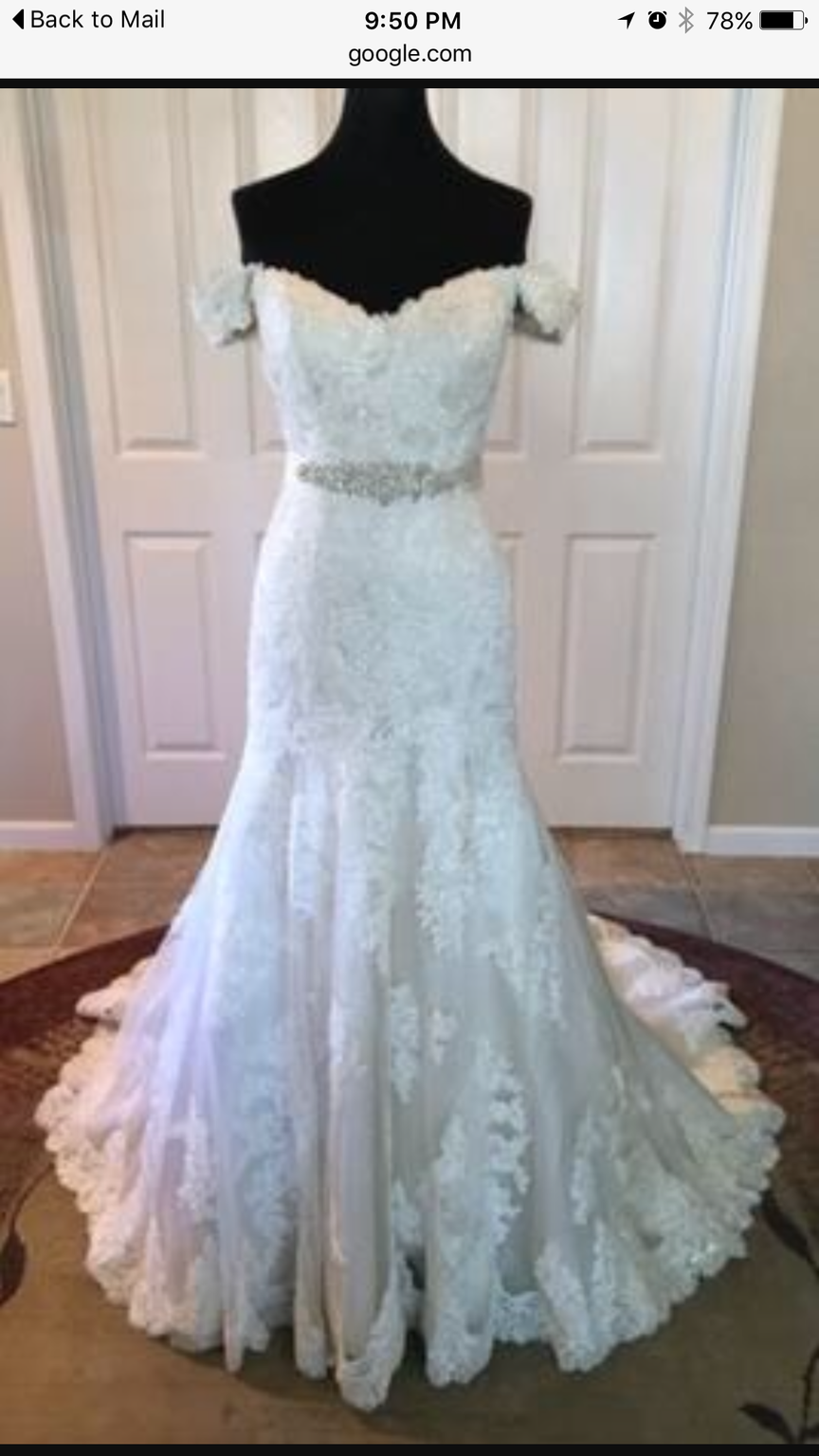 Essense of Australia D1617, $700 Size: 14 | Used Wedding Dresses ...