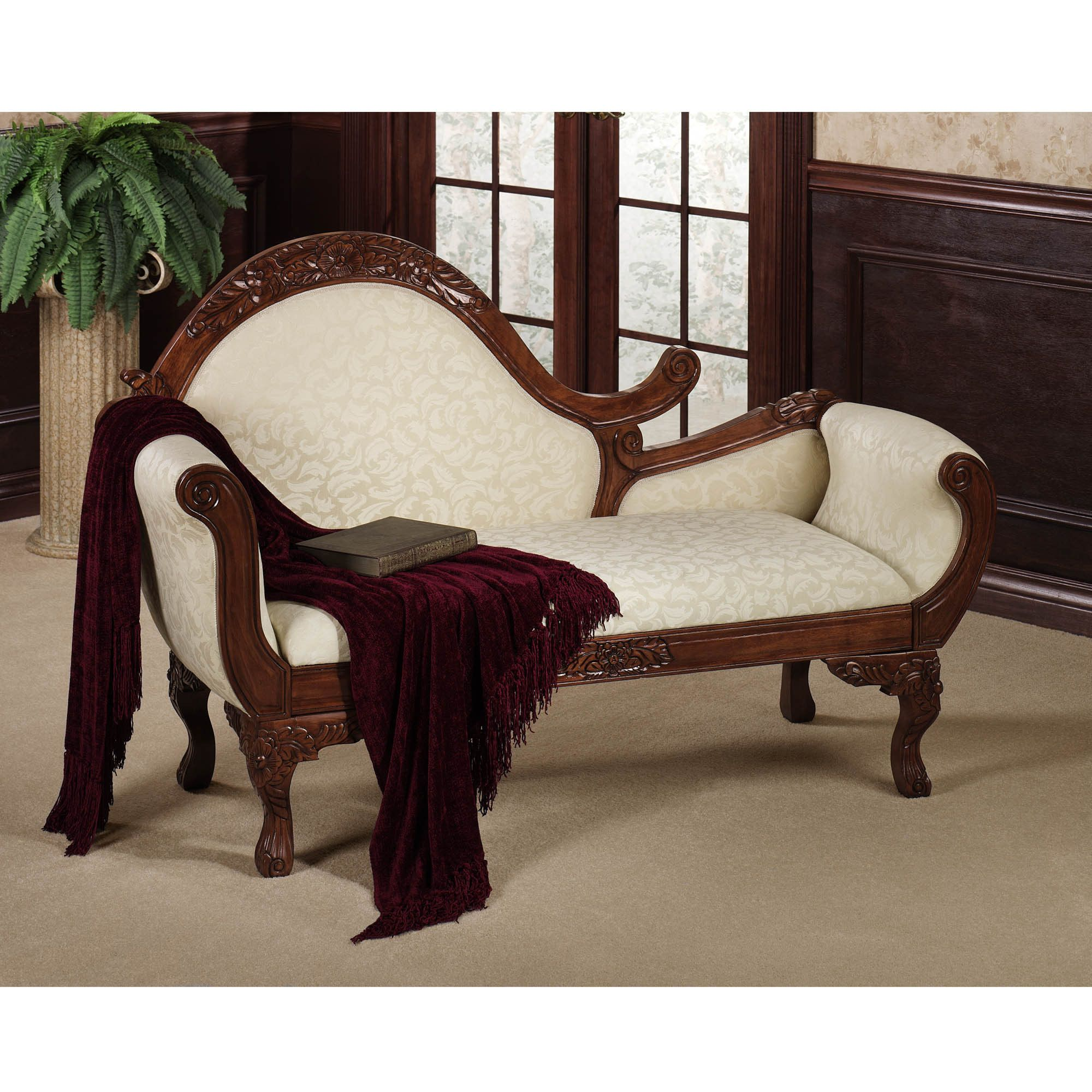 Victoriana Chaise Lounge Chair. Victorian ...