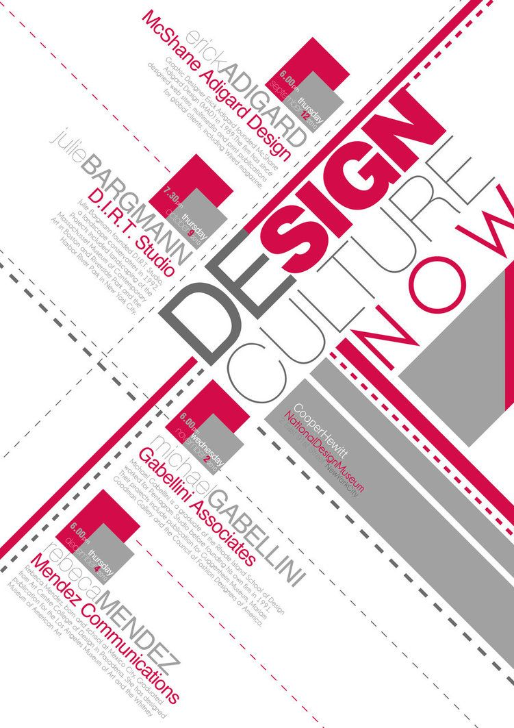Poster design typography - Typography Poster Design Inspiration