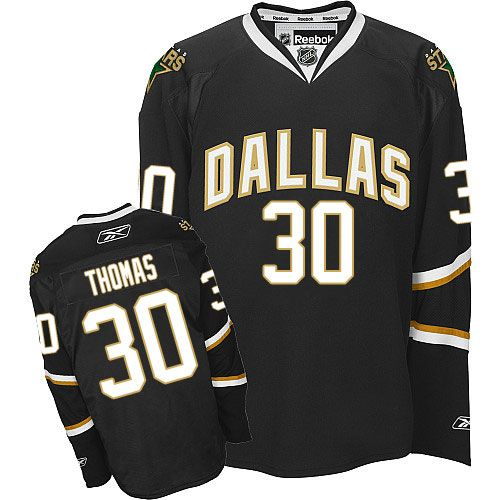 d713bdfe0 Dallas Stars 30 Tim Thomas Home Jersey - Black [Dallas Stars Hockey Jerseys  034]