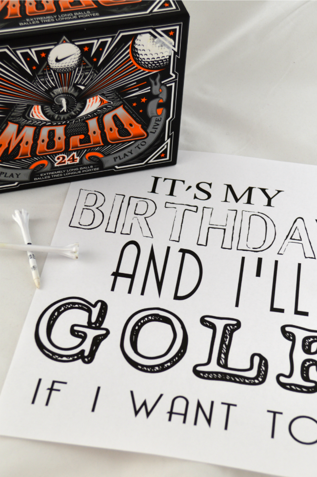 Golf Birthday Cards Free Printable Letterjdi