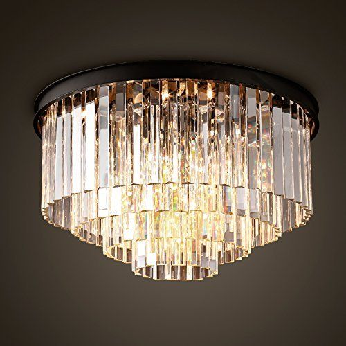 ella fashion luxurious modern crystal chandelier lighting fixture