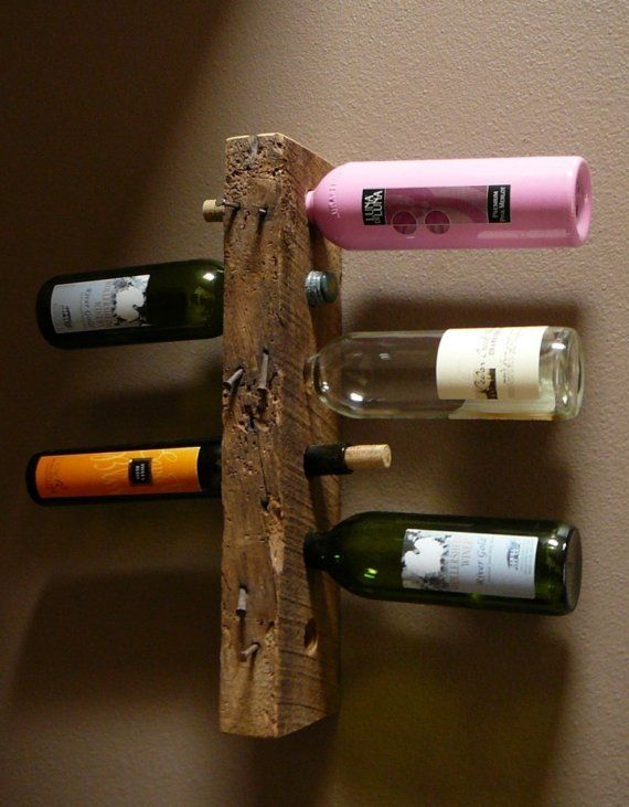 reclaimed wood wine rack id es pour la maison cave. Black Bedroom Furniture Sets. Home Design Ideas