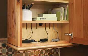 Charging Station in Kitchen cabinet | Charging station ...