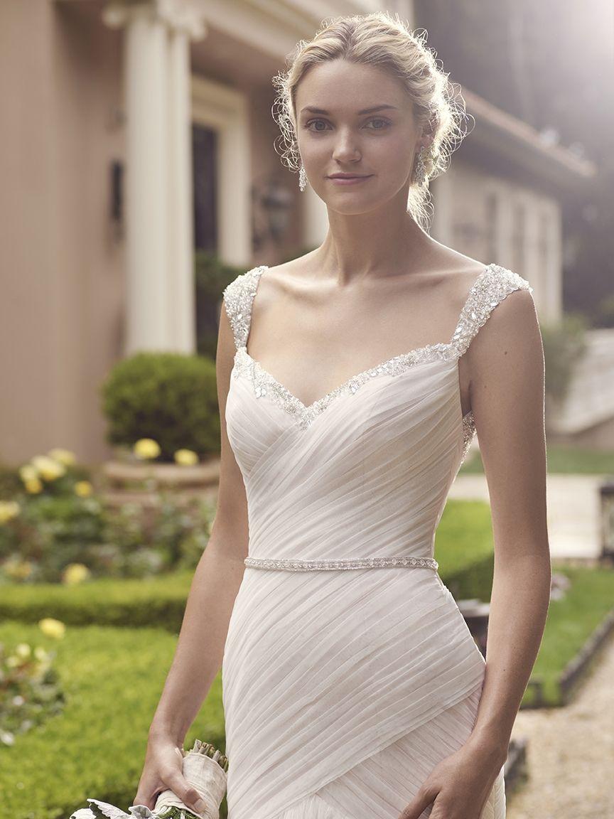 Wedding dresses with beading  Style  Freesia  dress options  Pinterest  Ivory Wedding
