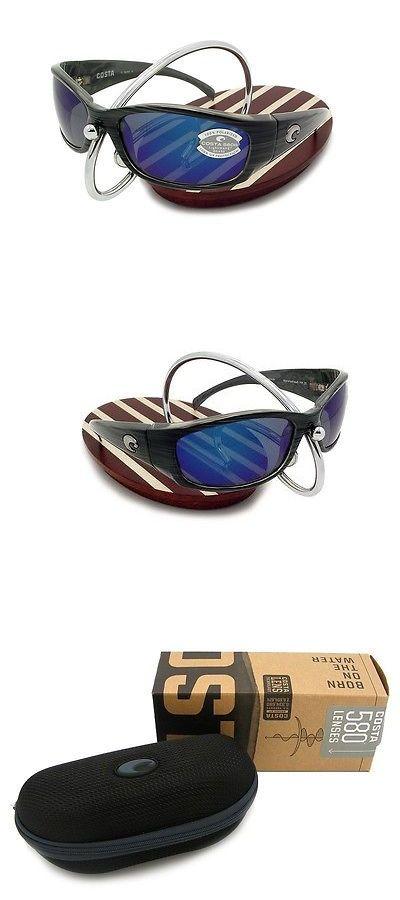 1d699995bd8 Sunglasses 151543  New Costa Del Mar Hammerhead Silver Teak 580 Blue Mirror  Glass 580G -