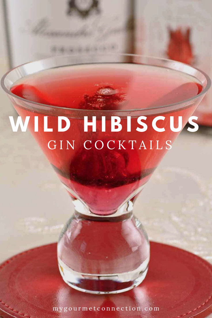 Wild Hibiscus Gin Cocktail Recipe Gin Cocktails Fruity Cocktails Hibiscus Drink