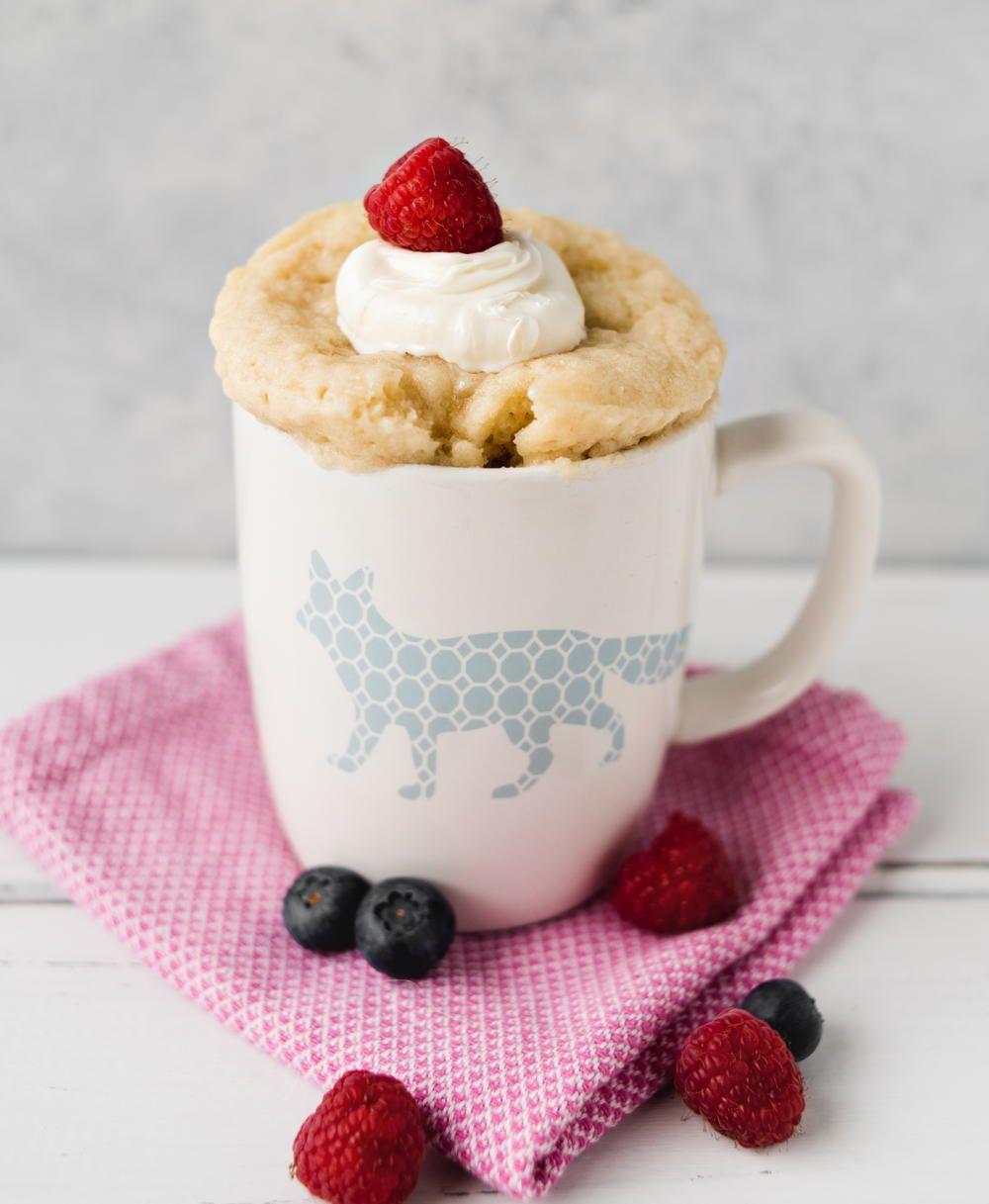 Because you can make this vanilla mug cake without vanilla ...