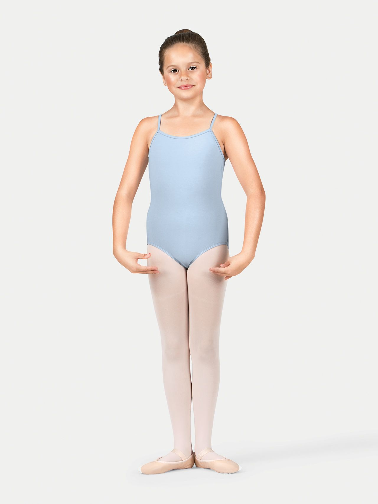 e06adbd5f Girls Cotton Camisole Dance Leotard in 2019
