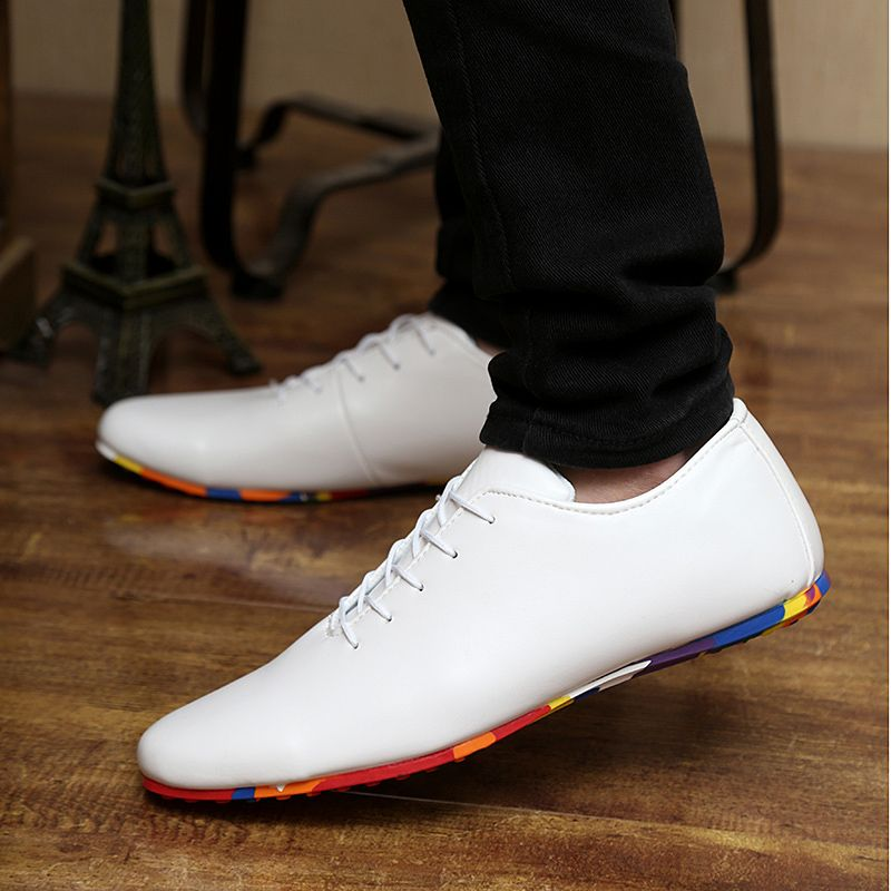 Men's Casual Sneakers Shoes Autumn Flats Loafers Lightweight Adult Moccasins Male Shoes